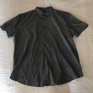 John Varvatos Men's Short Sleeve Shirt